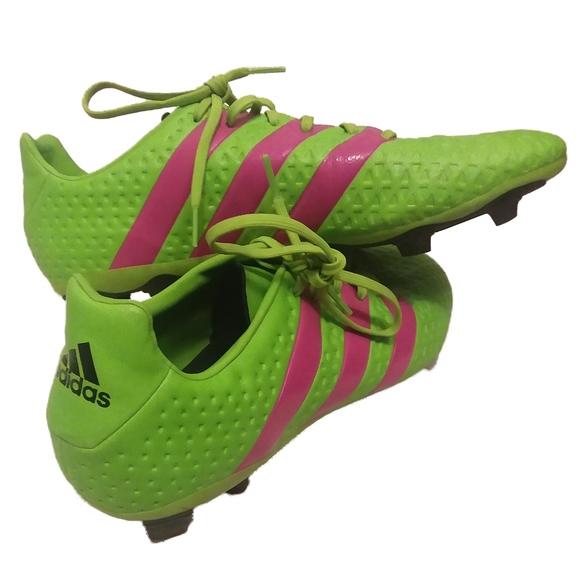 Adidas Ace 64 Fxg Neon Green Soccer